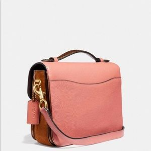 Coach Bags - Coach Cassie Crossbody With Snakeskin Detail